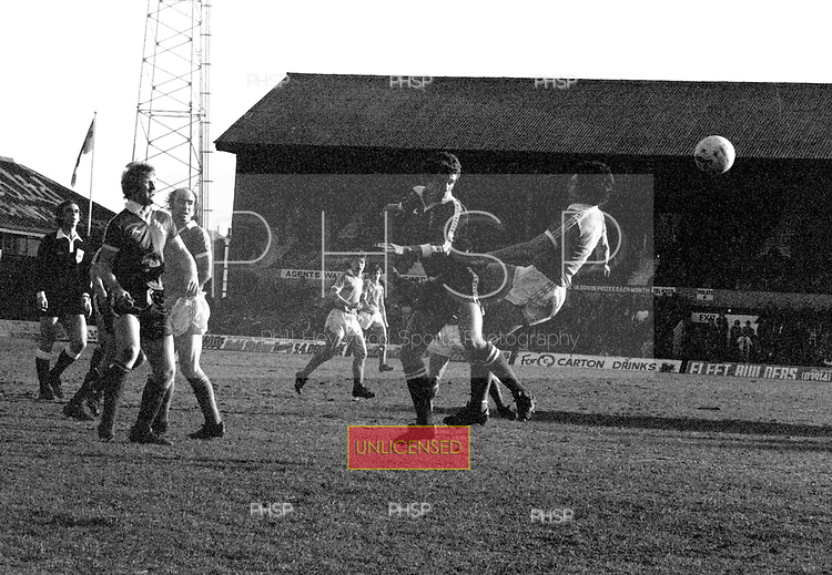 16/02/80 Blackpool v Plymouth Argyle  League Divsion 3.....© Phill Heywood.