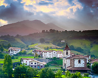 village, Sunbilla, Basque Country, Baztan, Navarre, Spain