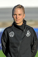 20200307  Lagos , Portugal : German defender Leonie Maier (4) pictured during the female football game between the national teams of Germany and Norway on the second matchday of the Algarve Cup 2020 , a prestigious friendly womensoccer tournament in Portugal , on saturday 7 th March 2020 in Lagos , Portugal . PHOTO SPORTPIX.BE | STIJN AUDOOREN