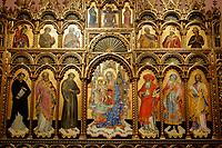 CROATIA, Zadar, old town, church and monastery of holy St. Francis / KROATIEN, Zadar, Franziskaner Kirche und Kloster des heiligen Franziskus von 1223, Museum, Schatzkammer