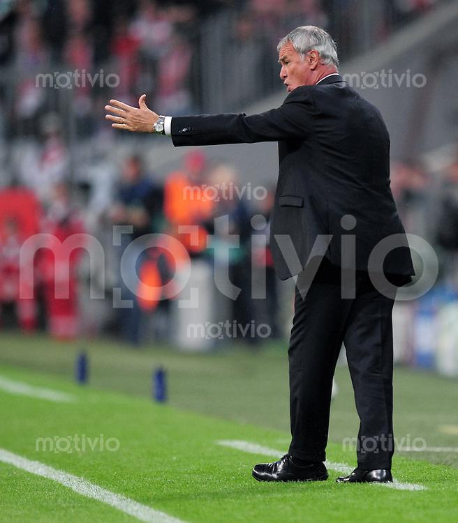 FUSSBALL   CHAMPIONS LEAGUE   SAISON 2010/2011  GRUPPE  E FC Bayern - AS Rom      15.09.2010 Trainer Claudio Ranieri (AS Rom)
