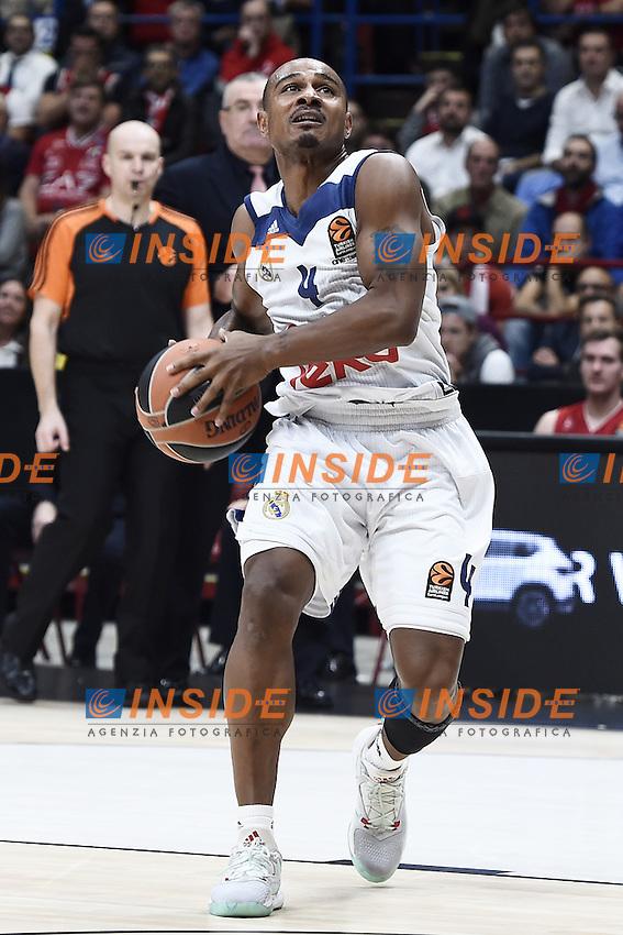 Milano 27/10/2016 - basket Eurolega / EA7 Milano - Real Madrid / foto Daniele Buffa/Image Sport/Insidefoto<br /> nella foto: Donate Draper