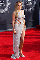 LOS ANGELES, CA, USA - AUGUST 24: Jennifer Lopez at the 2014 MTV Video Music Awards held at The Forum on August 24, 2014 in the Los Angeles, California, United States. (Photo by Xavier Collin/Celebrity Monitor)