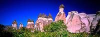 Fairy Chimneys, Zelve, Cappadocia, Turkey