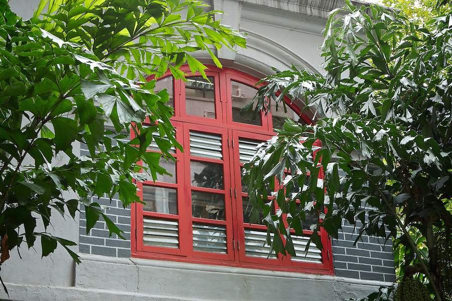 First Floor Window, East (Manager's Office), Tung Wah Museum.