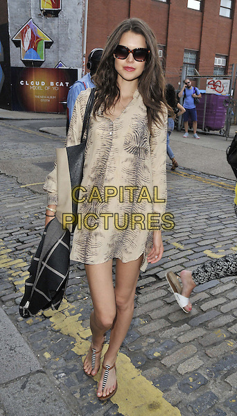 LONDON, ENGLAND - JULY 17: Sarah Ann Macklin attends the Warner Music Group &amp; GQ 2014 summer party, Shoreditch House, Ebor St., on Thursday July 17, 2014 in London, England, UK.<br /> CAP/CAN<br /> &copy;Can Nguyen/Capital Pictures