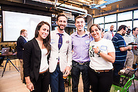 Sharon Lieberman, Joe Sprott, Denis Baranov, Dahlia Green attend DC Tech Meets Muriel Bowser hosted by WeWork Wonder Bread Factory on August 13, 2014. Photos by Joy Asico /Guest of a Guest