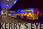 A 60 year old female pedestrian was fatally injured when she was struck by a car in Manor West Retail Park on Tuesday