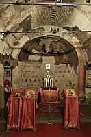 BG11137.JPG BULGARIA, SOFIA, ST. PETKA SAMARDZHIISKA CHURCH, 14TH C., frescoes