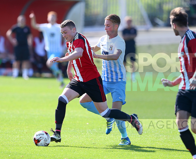 Caolan Lavery of Sheffield Utd during the Professional Development League Two match at Shirebrook Training Complex, Sheffield. Picture date: September 13th, 2016. Pic Simon Bellis/Sportimage