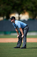 Umpire Taylor Payne during an Instructional League game between the Detroit Tigers and Atlanta Braves on October 10, 2017 at the ESPN Wide World of Sports Complex in Orlando, Florida.  (Mike Janes/Four Seam Images)