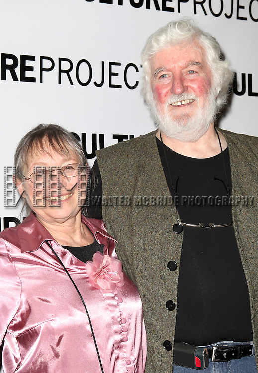 Sunny Jacobs and Peter Pringle attending the after Party for 10th Anniversary Production of 'The Exonerated' at the Culture Project in New York City on 9/19/2012.