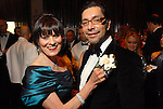 Auction chairs Mary Beth Aspromonte and Ceron at the Ballet Ball at the Wortham Theater Saturday  Feb. 16,2008.(Dave Rossman/For the Chronicle)