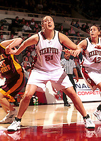 STANFORD, CA - MARCH 11: Cori Enghusen of the Stanford Cardinal during Stanford's 91-67 win over the Arizona State Sun Devils on March 11, 2000 at Maples Pavilion in Stanford, California.