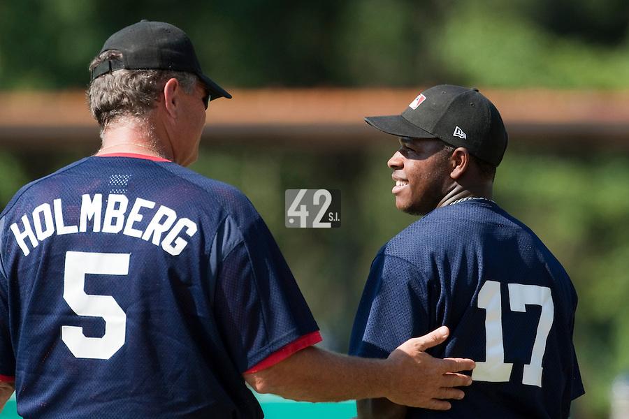 Baseball - MLB European Academy - Tirrenia (Italy) - 21/08/2009 - Zair Koeiman (Netherlands)