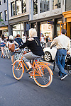 Design Ride Manhattan: Sunday, May 16  <br /> <br /> PUBLIC and Tretorn celebrated the launch of PUBLIC and New York City's vibrant biking culture.<br /> <br /> Starting at 5:30pm, bicyclists -- a motley group of designers, friends and bike lovers -- rolled from the ICFF at Jacob K. Javits Convention Center to the Tretorn Store on Spring Street in SoHo for a reception.
