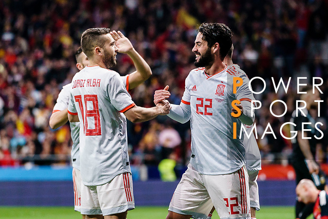 Spain v Argentina - International Friendly | Power Sport Images