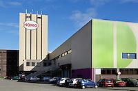 Nederland Nijmegen 2016 02 25.  Honigcomplex. Culturele hotspot aan de Waal in de voormalige fabriek van Honig.  Foto Berlinda van Dam / Hollandse Hoogte