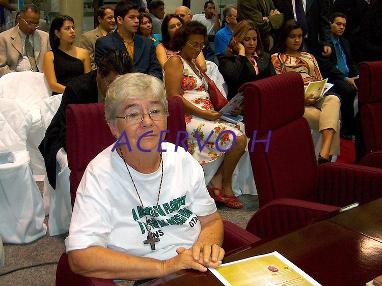 Irmã Dorothy Stang.<br /> Belém, Pará, Brasil.<br /> Foto Luiz Estumano<br /> 2004