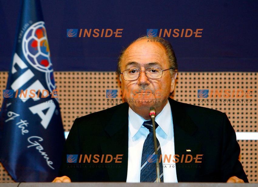 Joseph S. Blatter Presidente FIFA<br /> Photo by: Philippe Perusseau / Deadline Photo Press/Insidefoto