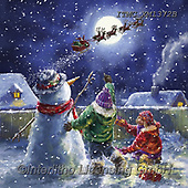 Marcello, CHRISTMAS CHILDREN, WEIHNACHTEN KINDER, NAVIDAD NIÑOS, paintings+++++,ITMCXM1372B,#xk#,Santa,sledge