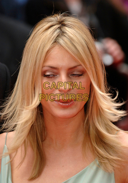 TESS DALY.Arrivals at the British Academy Television Awards, (BAFTA's) held at Grosvenor House Hotel, London, .England, May 7th 2006..bafta baftas portrait headshot funny face lips mouth eyes.Ref: PL.www.capitalpictures.com.sales@capitalpictures.com.©Phil Loftus/Capital Pictures