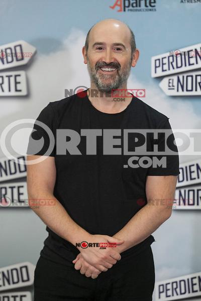 Actor Javier Camara poses during `Perdiendo el Norte´ film presentation photocall in Madrid, Spain. March 03, 2015. (ALTERPHOTOS/Victor Blanco) /NORTEphoto.com