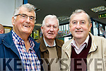 Book Launch<br /> ------------------<br /> Well known Tralee brothers, Ricky, Des&amp;Ted Fitzgerald at the launch of Joe Enright's new book at the Tralee library last Saturday afternoon.