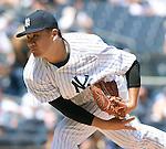 Masahiro Tanaka (Yankees), JULY 23, 2015 - MLB : New York Yankees starting pitcher Masahiro Tanaka throws the ball during a baseball game against the Baltimore Orioles at Yankee Stadium in New York, United States. (Photo by AFLO)