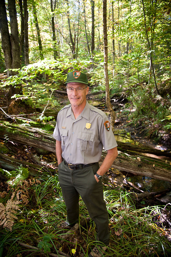 Portrait of Pictured Rocks National Lakeshore facility manager Chris Case.