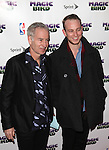 "John McEnroe & Son pictured at the ""Magic/Bird"" Opening Night Arrivals at the Longacre Theatre in New York City on April 11, 2012 © Walter McBride / WM Photography  Ltd."