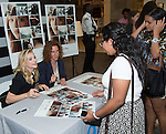 "MCLEAN, VA - JULY 29: Chloe Grace Moretz and Gayle Forman attends ""If I Stay"" meet & greet and autograph signing on July 29, 2014 at Tyson Corner Center in MCLEAN, VA  RD / Melvin / Retna Ltd."