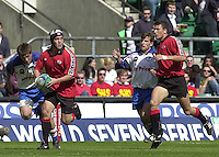 25/05/2002 (Saturday).Sport -Rugby Union - London Sevens.Canada vs Russia.Matt Cohen[Mandatory Credit, Peter Spurier/ Intersport Images].