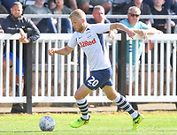 Preston North End's Jayden Stockley in action during todays match  <br /> <br /> Photographer Dave Howarth/CameraSport<br /> <br /> Football Pre-Season Friendly - Bamber Bridge v Preston North End - Saturday 6th July 2019 - Sir Tom Finney Stadium - Bamber Bridge<br /> <br /> World Copyright © 2019 CameraSport. All rights reserved. 43 Linden Ave. Countesthorpe. Leicester. England. LE8 5PG - Tel: +44 (0) 116 277 4147 - admin@camerasport.com - www.camerasport.com