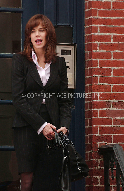 "WWW.ACEPIXS.COM . . . . .....March 15 2007, New York City....Actress Francis O'conner on the set of the new TV series ""Cashmere Mafia"" in the West Village area of Manhattan...  ....Please byline: Kristin Callahan - ACEPIXS.COM..... *** ***..Ace Pictures, Inc:  ..Philip Vaughan (646) 769 0430..e-mail: info@acepixs.com..web: http://www.acepixs.com"