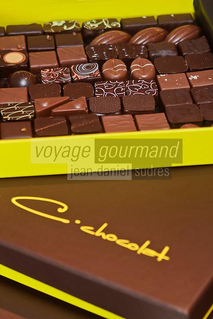 Europe/France/Bretagne/29/Finistère/Brest: Pierre-Yves Hénaff, chocolatier: C. Chocolat,  [Non destiné à un usage publicitaire - Not intended for an advertising use]