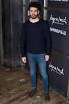 """Nico attends to the presentation of the Springfiled Fashion Film of Christmas """"Keep in Touch"""" at Luchana Theater in Madrid, November 17, 2015.<br /> (ALTERPHOTOS/BorjaB.Hojas)"""