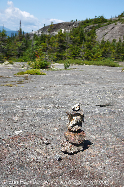 Caribou - Speckled Mountain Wilderness - Random pile of rocks along Mud Brook Trail in the White Mountain National Forest of Maine. Mud Brook Trail travels to the summit of Caribou Mountain.