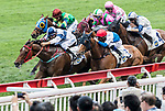 Jockey compete the Race 6 - Pacific Ocean Handicap on 07 May 2017, at the Sha Tin Racecourse  in Hong Kong, China. Photo by Chris Wong / Power Sport Images