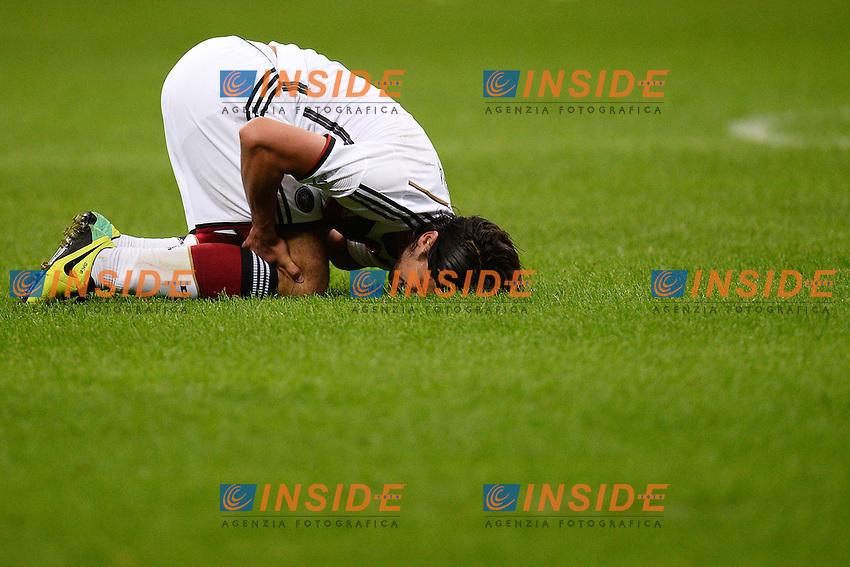 Sami Khedira Injured Germany - Milano 15-11-2013 Stadio Giuseppe Meazza San Siro - Football Calcio Friendly Match  2013/2014 - Italia - Germania / Italy - Germany - Foto Andrea Staccioli / Insidefoto
