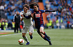 Real Madrid CF's Alvaro Odriozola and SD Eibar's Marc Cucurella during La Liga match. April 06, 2019. (ALTERPHOTOS/Manu R.B.)