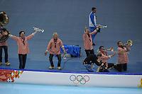 OLYMPICS: SOCHI: Adler Arena, 16-02-2014, Ladies' 1500m, ©photo Martin de Jong