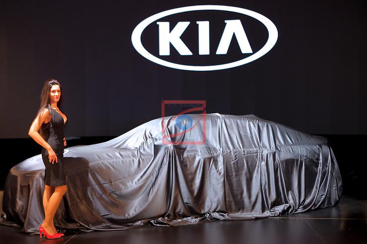 Automobile Barcelona 2017.<br /> Stand KIA.