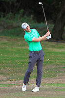 Marcel Siem (GER) on the 1st fairway during Round 3 of the Sky Sports British Masters at Walton Heath Golf Club in Tadworth, Surrey, England on Saturday 13th Oct 2018.<br /> Picture:  Thos Caffrey | Golffile