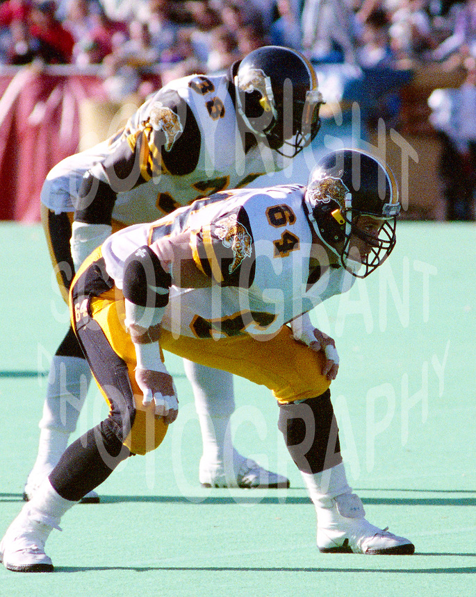 Tim Lorenz Hamilton Tiger Cats 1990. Photo John Bradley