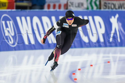 January 29th 2017, Sportforum, Berlin, Germany; ISU Speed Skating World Cup;  ISU Speed Skating World Cup 1000m Division A; Isabell Ost (GER)