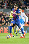 Paulinho Maciel of FC Barcelona in action during the La Liga 2017-18 match between FC Barcelona and Deportivo La Coruna at Camp Nou Stadium on 17 December 2017 in Barcelona, Spain. Photo by Vicens Gimenez / Power Sport Images