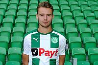 GRONINGEN - Voetbal, Presentatie FC Groningen o23, seizoen 2017-2018, 11-09-2017,    FC Groningen speler Robbert de Vos
