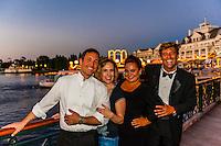 An a capella group who perform at Atlantic Dance at Disney's Board Walk, Walt Disney World, Orlando, Florida USA