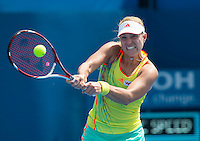 ANGELIQUE KERBER..Tennis - Apia Sydney International -  Sydney 2013 -  Olympic Park - Sydney - NSW - Australia.Tuesday 8th January  2013. .© AMN Images, 30, Cleveland Street, London, W1T 4JD.Tel - +44 20 7907 6387.mfrey@advantagemedianet.com.www.amnimages.photoshelter.com.www.advantagemedianet.com.www.tennishead.net